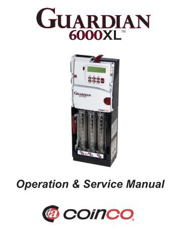 Coinco bill Acceptor Manual