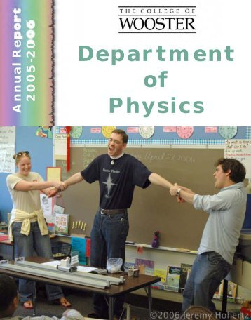 Department of Physics - College of Wooster