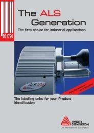The ALS Generation - Avery Dennison