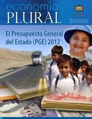 El Presupuesto General del Estado (PGE) 2012 - Ministerio de ...