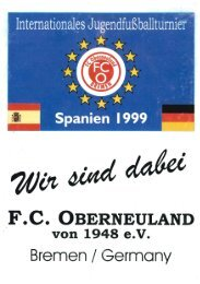 Turnier in Spanien 1999