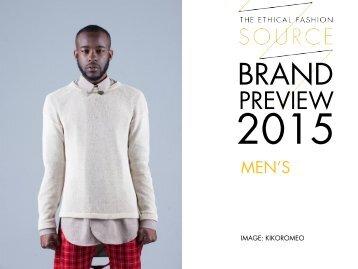 Brand Preview 2015 Men