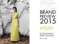 Brand Preview 2015 Atelier