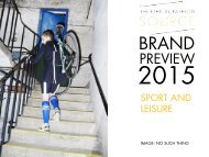 Brand Preview 2015 Sport & Leisure