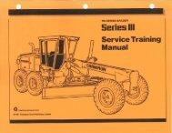 Service Training Manual - Series III