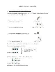 lezione 8 - Dipartimento di Statistica
