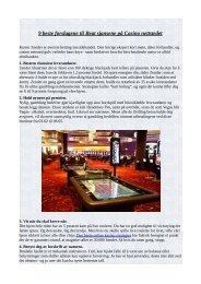 9 beste forslagene til Beat sjansene på Casino nettstedet