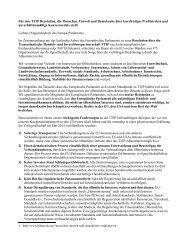 TTIP-Brief
