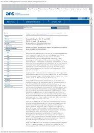 DFG - Deutsche Forschungsgemeinschaft - DFG ... - Immunobone