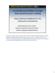 Data Collection Methods for the Classroom Environment (PDF)