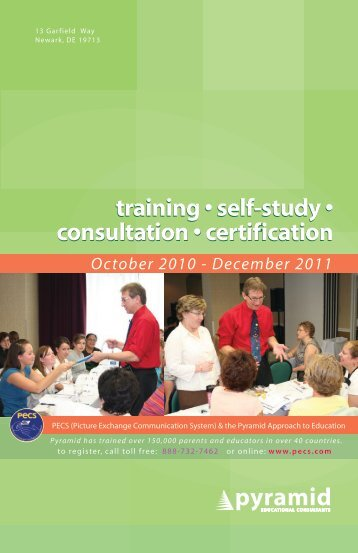 training • self-study • consultation • certification ... - PECS-USA.com!
