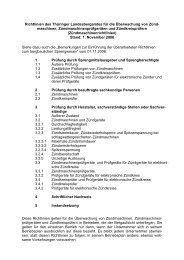 Richtlinien des Thüringer Landesbergamtes für die Überwachung ...