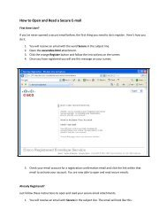 How to Open and Read a Secure E-mail - Transplant Pro