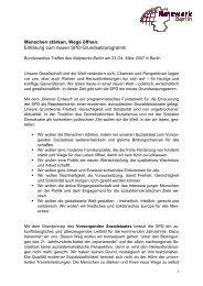 Positionspapier zum Grundsatzprogramm ... - Netzwerk Berlin