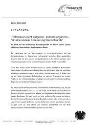 Erklärung des Sprecherkreis downloaden - Netzwerk Berlin