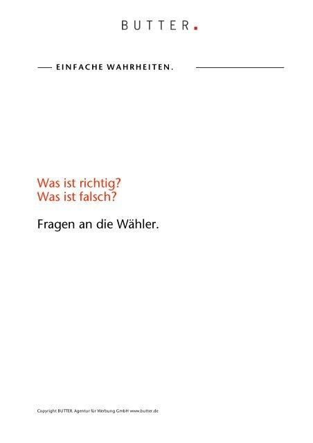 Einfache Wahrheiten - Netzwerk Berlin