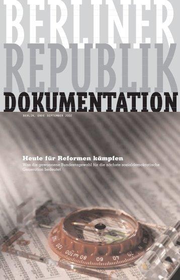 Berliner Republik Dokumentation downloaden - Netzwerk Berlin