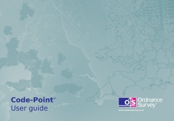 CodePoint user guide - Digimap