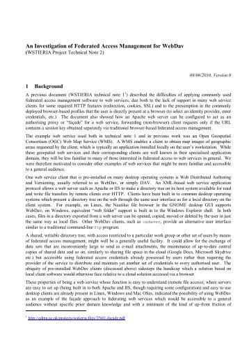 Technical Note 2 - Edina
