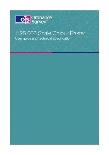 2.5 MB pdf: 1:25 000 Scale Colour Raster user guide and ... - Digimap