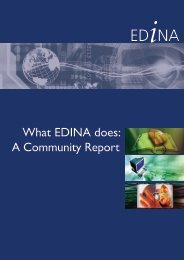 Community Report, September 2010 - PDF file - Edina