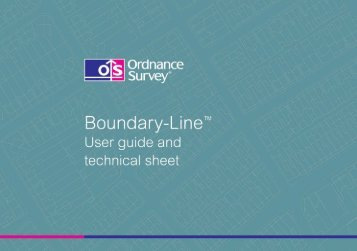 Boundary-Line user guide v4.1 - Digimap