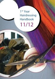1 st Year Hairdressing Handbook - St. John's Central College