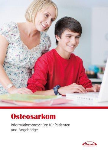 Osteosarkom – Informationsbroschüre für Patienten und Angehörige