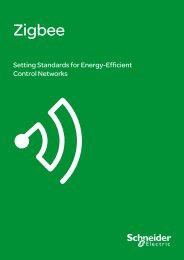 Zigbee: Setting Standards for Energy-Efficient ... - Schneider Electric