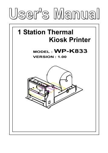 A794 printer