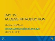 DAY 15: ACCESS INTRODUCTION