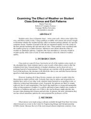 Examining The Effect of Weather on Student ... - Data Privacy Lab