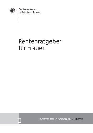 Rentenratgeber fuer Frauen A 270 - Petra Hinz
