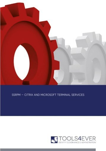 Citrix and Microsoft Terminal Services - Tools4Ever.com