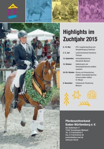 Freilaufwettbewerb und Ponykörung am 15. März in Marbach