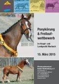 Freilaufwettbewerb und Ponykörung am 15. März in Marbach - Seite 2
