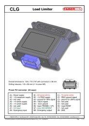 CLG Load Limiter - Fabercom