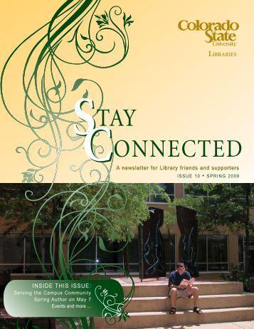 Spring 2009 (2.8 MB) - Libraries - Colorado State University