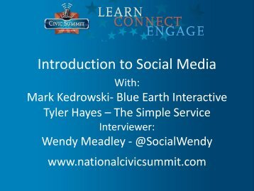 \ Introduction to Social Media - Election Defense Alliance