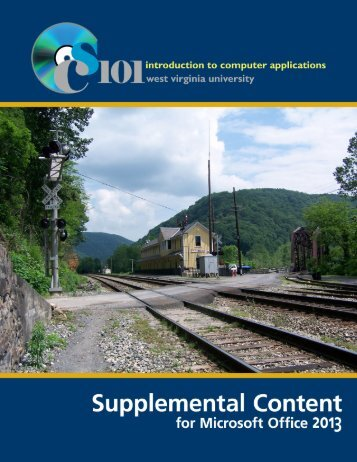 View Supplemental Content - Computer Science 101 - West Virginia ...
