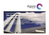 eine Einführung - Agora Energiewende