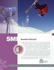 Standard Wizzard Technische Daten (pdf) - Snow Machines, Inc.