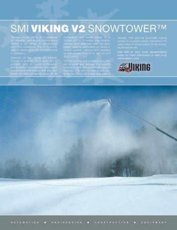 Download V2 SnowTower Literature - Snow Machines, Inc.