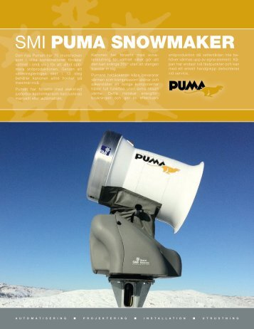 SMI PUMA SNOWMAKER