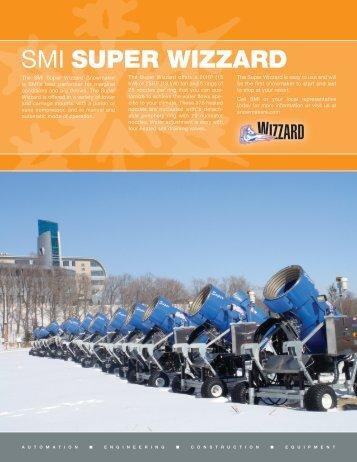 Download Super Wizzard Literature - Snow Machines, Inc.