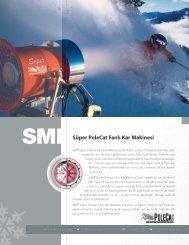 Süper PoleCat Fanlı Kar Makinesi - Snow Machines, Inc.