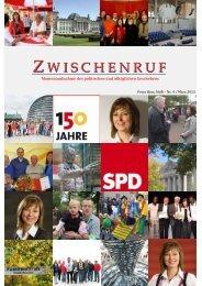 Zwischenruf Ausgabe 4 von März 2013 - Petra Hinz