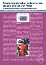 Aquaculture #32.indd - Institute of Aquaculture