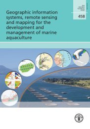 FAO Technical Report - Institute of Aquaculture - University of Stirling