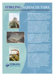 Flyer English (pdf) - Institute of Aquaculture - University of Stirling
